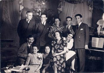 Annual Family Christmas Party, 1940