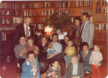 Annual Family Christmas Party, 1982