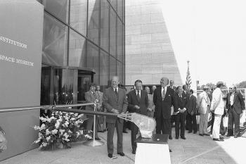 NASM Opening Day Ribbon Cutting Ceremony