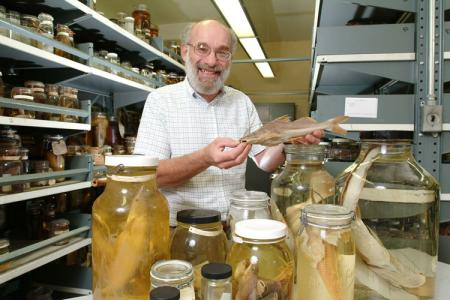 Richard Vari, Curator of Vertebrate Zoology