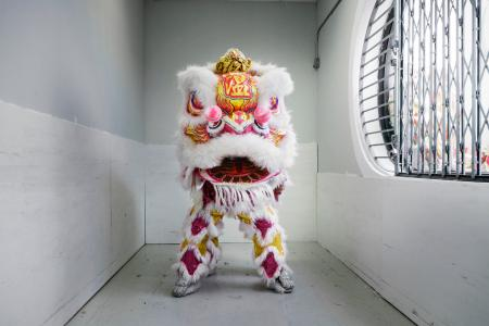 """Lion,"" January 24, 2014, Jason Lam/International Center of Photography."