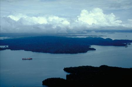 Aerial View of Barro Colorado Island