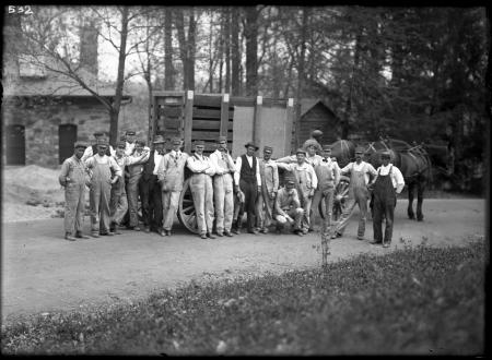 Group Portrait of Zookeepers