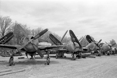 "Airplanes at ""Silver Hill"" Facility"