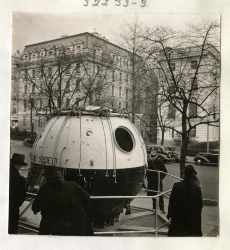 Stratosphere on the Street in Washington D.C., April 15, 1936, by Ruel P. Tolman, Record Unit 7433 -