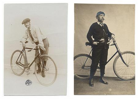 Who Wore it Best - Cyclist Couture: Lyonel Feininger vs. Elihu Vedder, Courtesy of the Archives of A