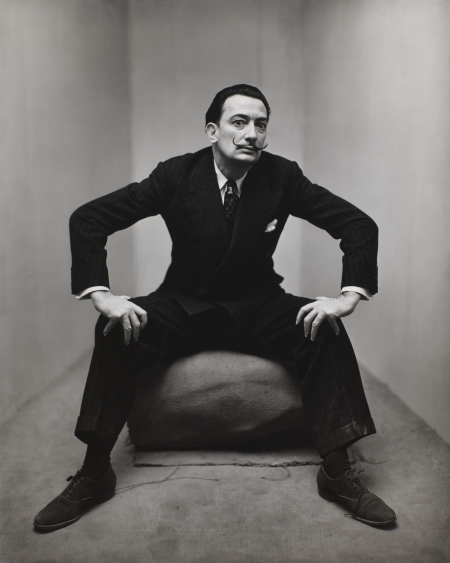 Salvador Dali, New York, 1947, by Irving Penn, Smithsonian American Art Museum, Gift of the artist.