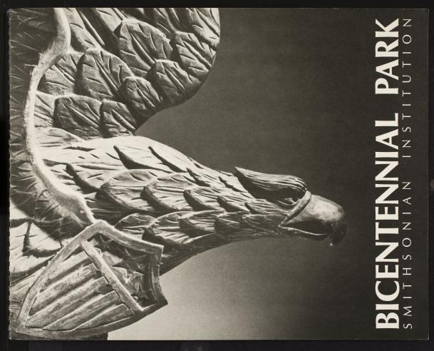 Official teaser brochure cover for the proposed Bicentennial Park.