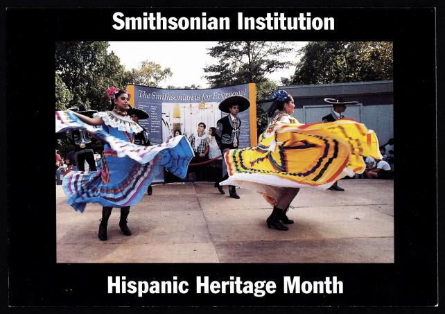 Hispanic Heritage Month, postcard.