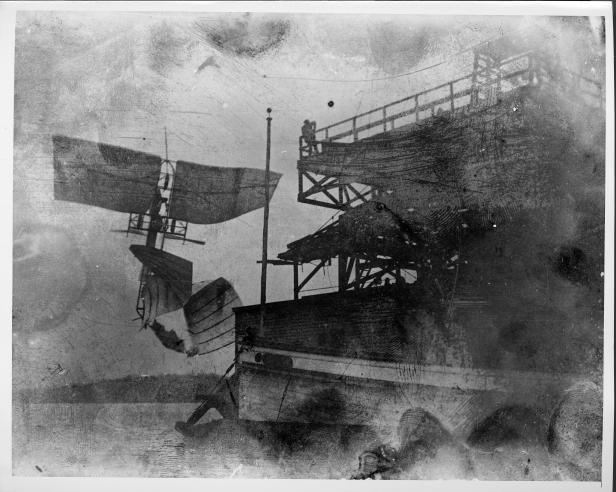 Langley Aerodrome in Flight.