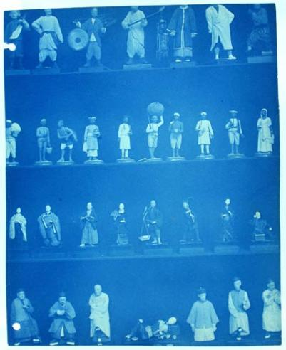 Photograph of Asian Figurines by Thomas William Smillie, c. 1890, by Thomas Smillie, SIA RU000095 [2606].