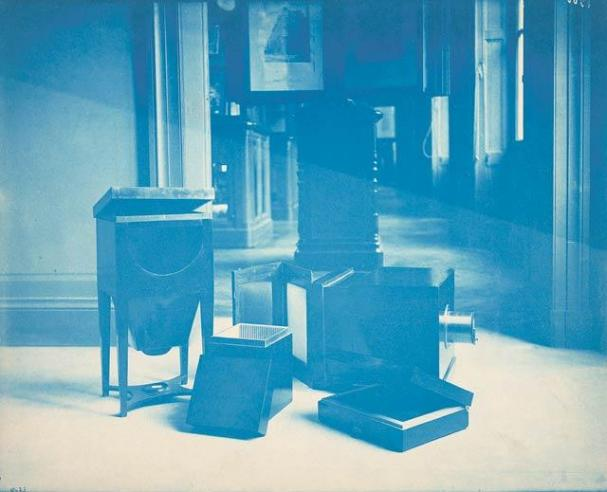 Samuel F. B. Morse's Daguerreotype Equipment, 1888, by Thomas Smillie, SIA RU000095 [10625].
