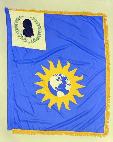 National Portrait Gallery flag