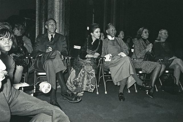 King Palden and Queen Hope of Sikkim attended a Sikkimese fashion show in the Great Hall of the Cast
