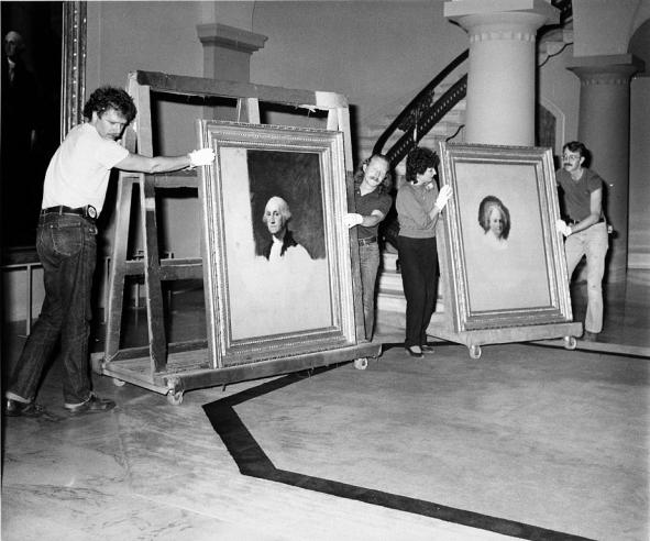 Moving Stuart Portraits Out of NPG, By Rolland Wright
