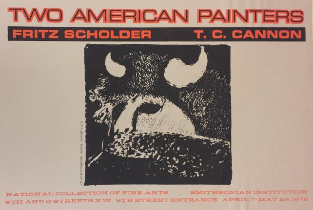 Two American Painters: Fritz Scholder and T.C. Cannon, 1972.