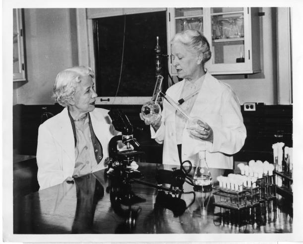 Elizabeth Lee Hazen (1888-1975) and Rachel Brown (1898-1980).