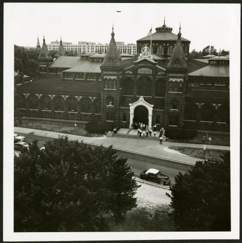 Arts and Industries Building, 1954. Record Unit 95, Smithsonian Institution Archives, Neg. no. SIA2012-2774.