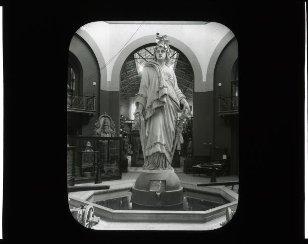 Statue of Freedom, United States National Museum. Accession 12-492, Smithsonian Institution Archives, Neg. no. SIA2012-2764.