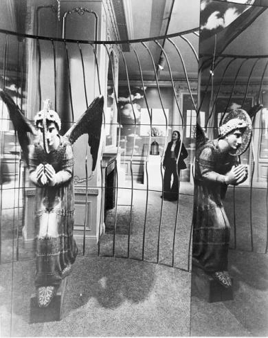 'Angel Cage' Exhibit at Cooper-Hewitt Museum, 1976, 95-20303.
