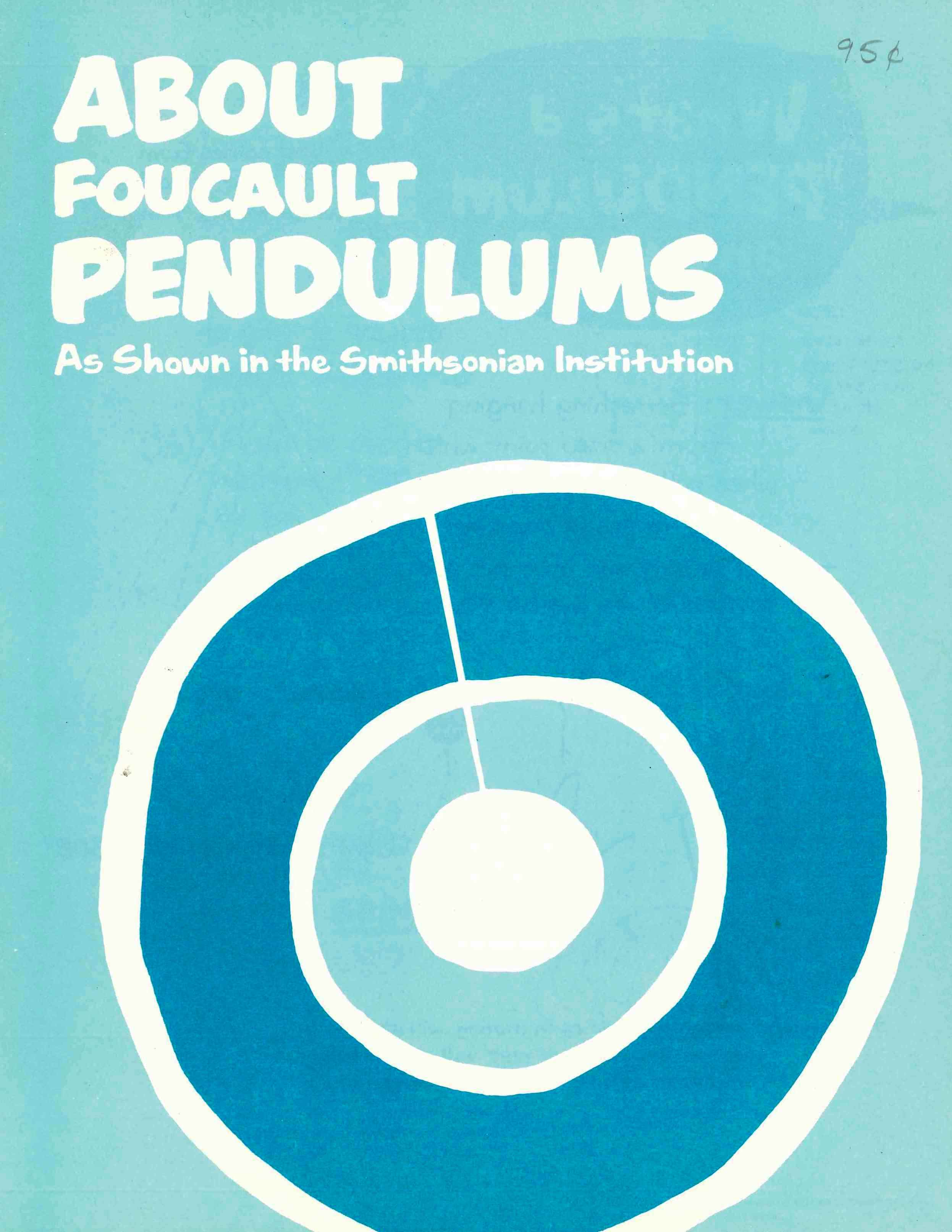 Cover of an educational guide on Foucault pendulums.