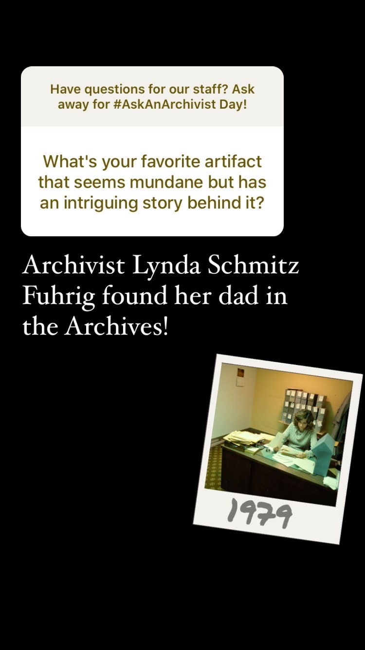 Slide with the question: What's your favorite artifact that seems mundane but has an intriguing stor