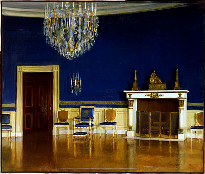 Blue Room by Charles Bittinger, 1903.