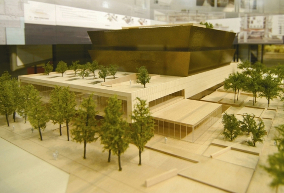 Architectural Rendering of the National Museum of African American History and Culture. http://sirismm.si.edu/siahistory/imagedb/fb5.jpg.