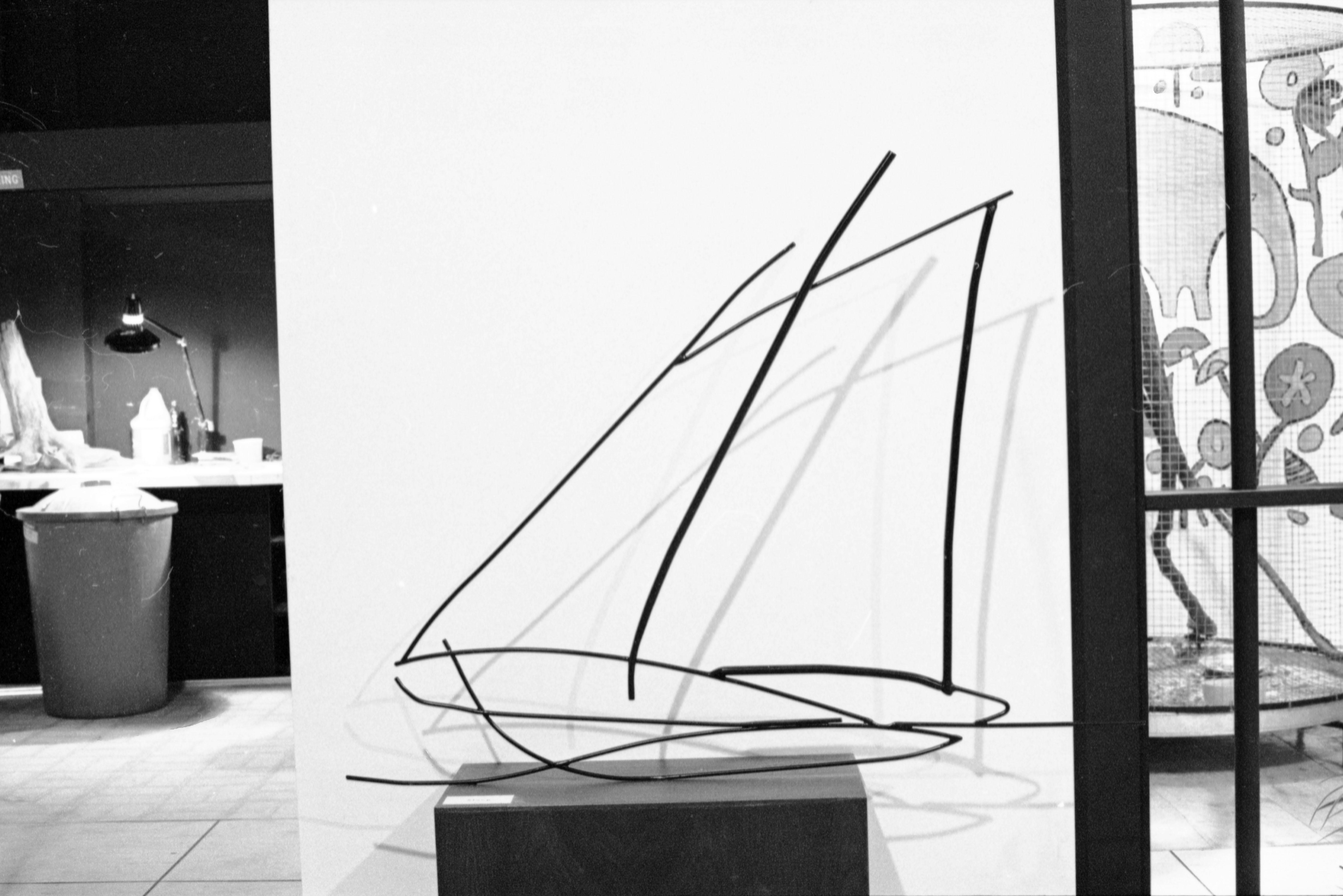 Sloop, Steel, by Ralph M. Tate.