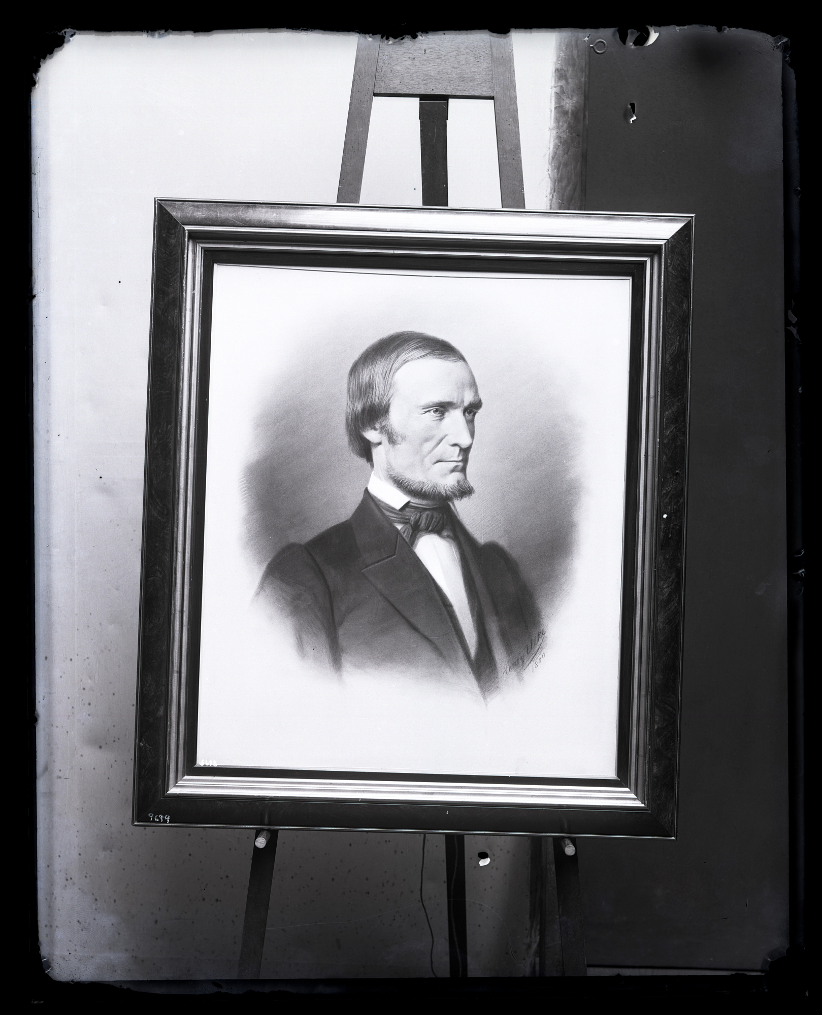 Portrait Painting of Fielding Bradford Meek (1817-1876)