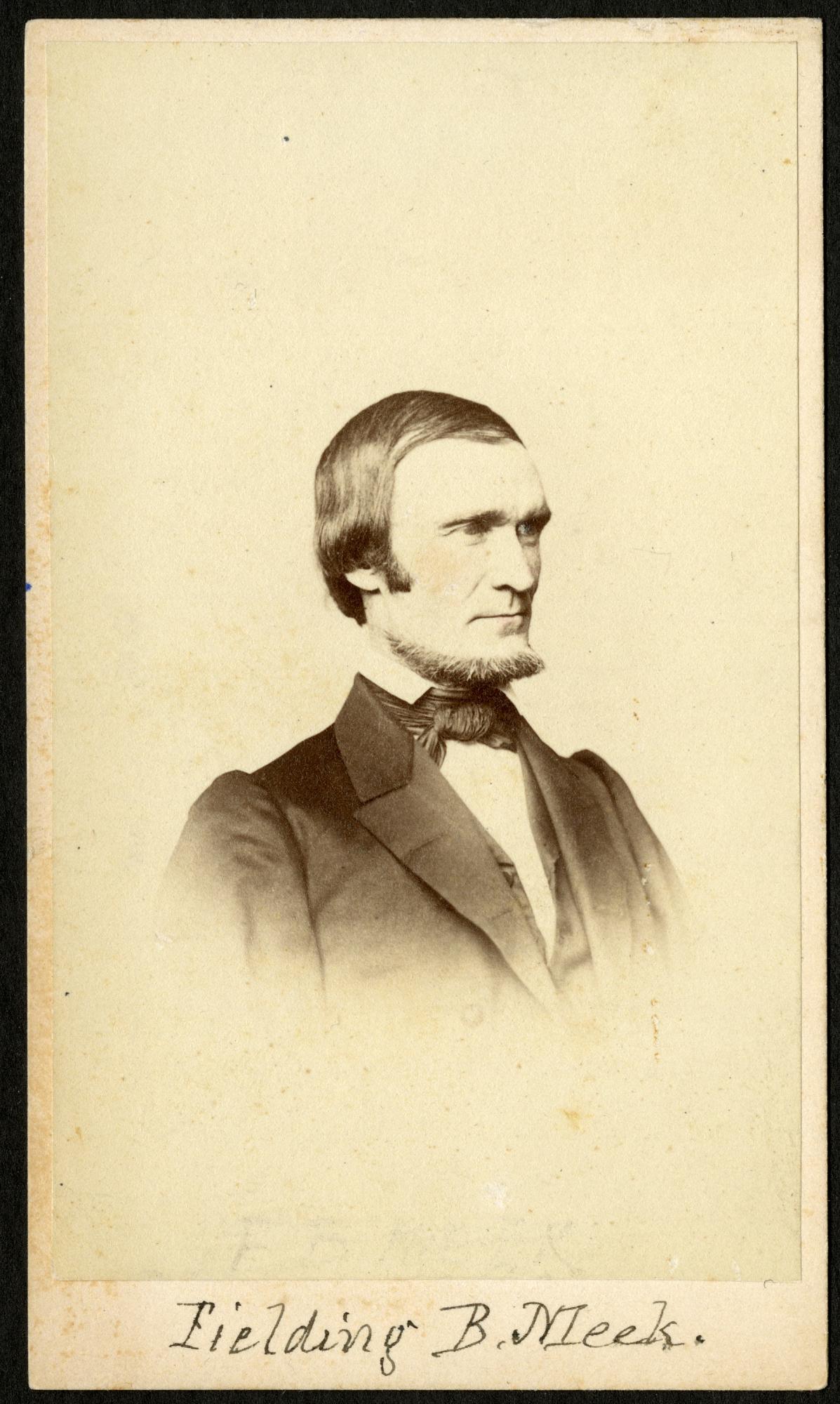 Fielding Bradford Meek (1817-1876)