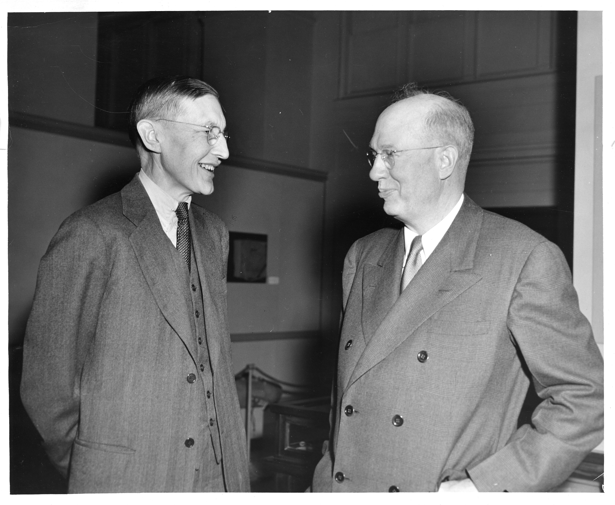 Herbert Spencer Gasser and Oliver Ellsworth Buckley