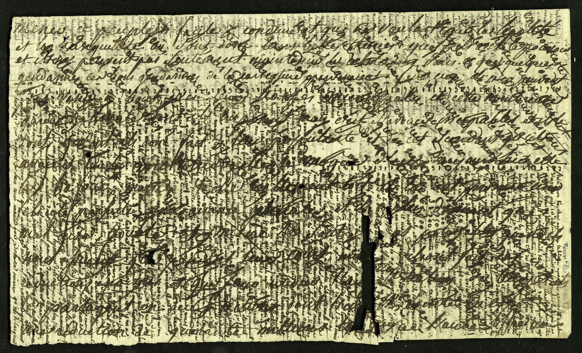 Archival document with black writing.
