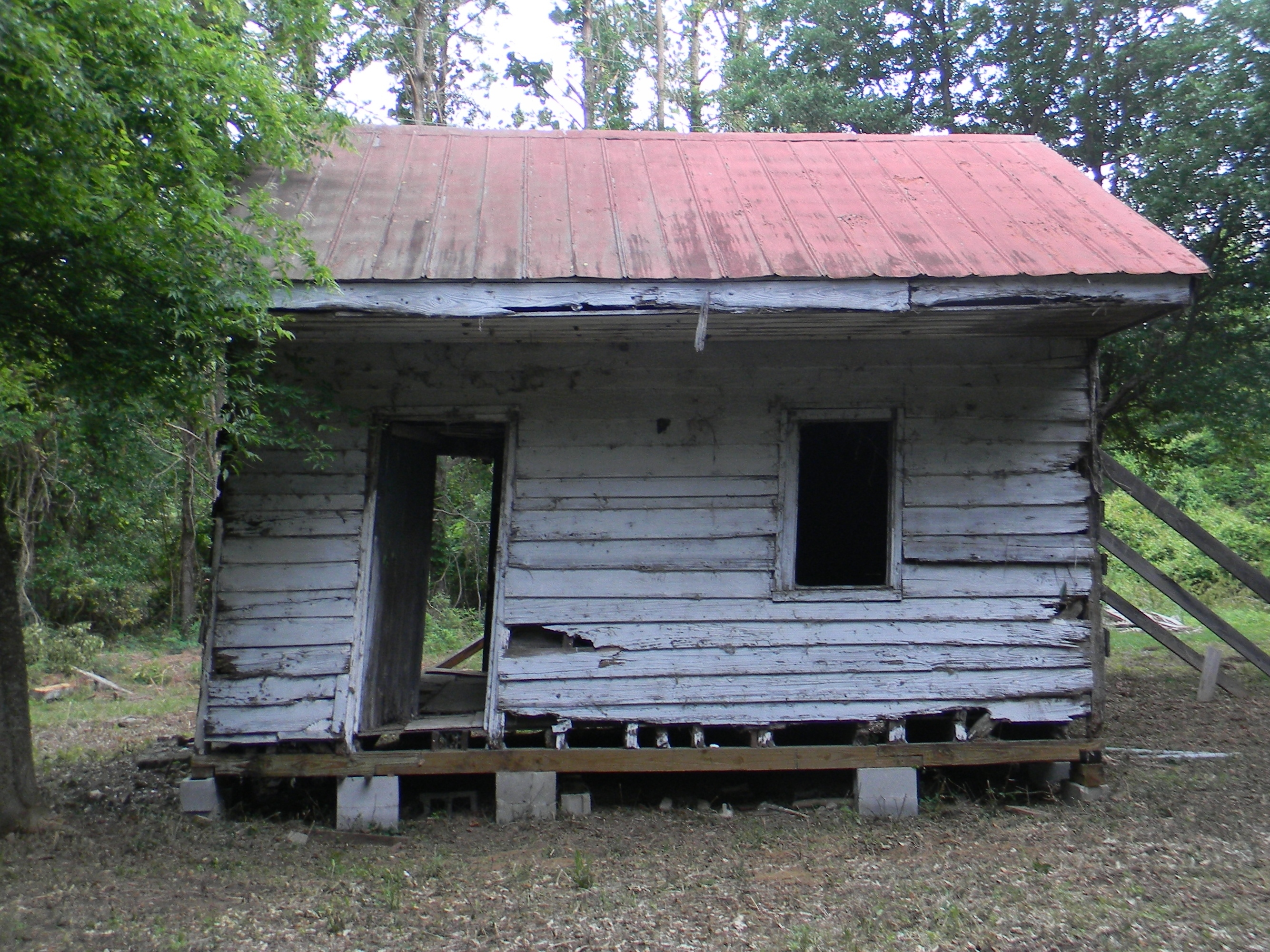 Slave Cabin from Point of Pines Plantation in Charleston County, South Carolina, Collection of the S