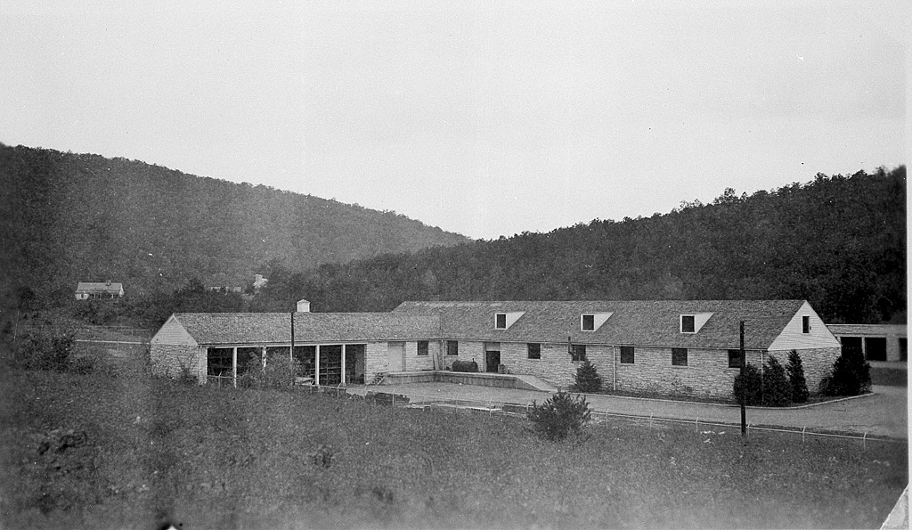 Image of Headquarters Area, Luray, Virginia, October 28, 1944