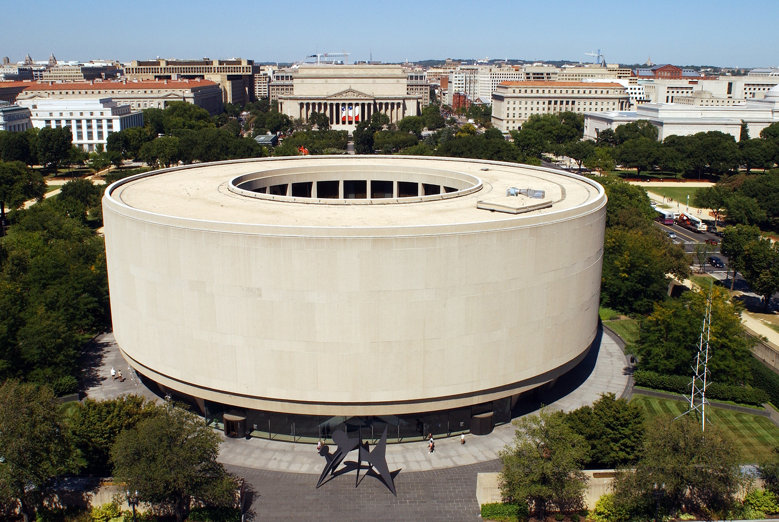 Smithsonian's Hirshhorn Museum and Sculpture Garden in Washington, D.C.