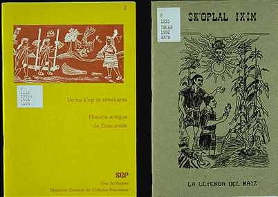 Photo showing the cover of two books
