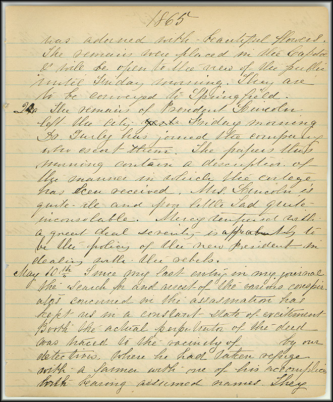 death of lincoln in 1865 essay 5 facts you may not know about lincoln's assassination  surrounding lincoln's death are well chronicled, some fascinating details are less known  theater on good friday in 1865 promised.