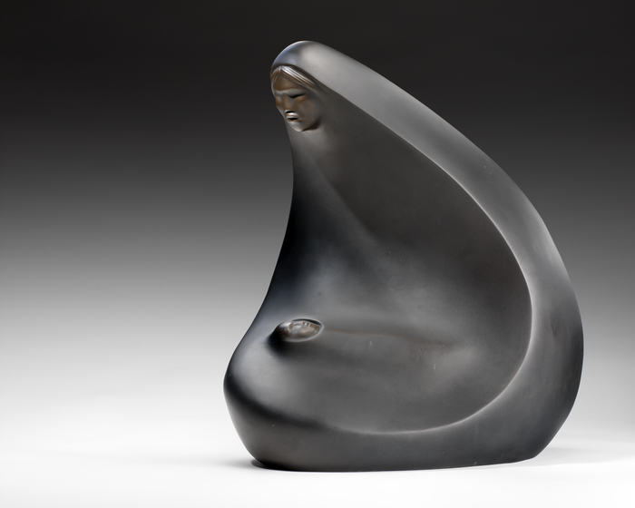 """""""Reverie,"""" by Allan Houser, 1981, bronze sculpture, National Museum of the American Indian, 25/7238"""