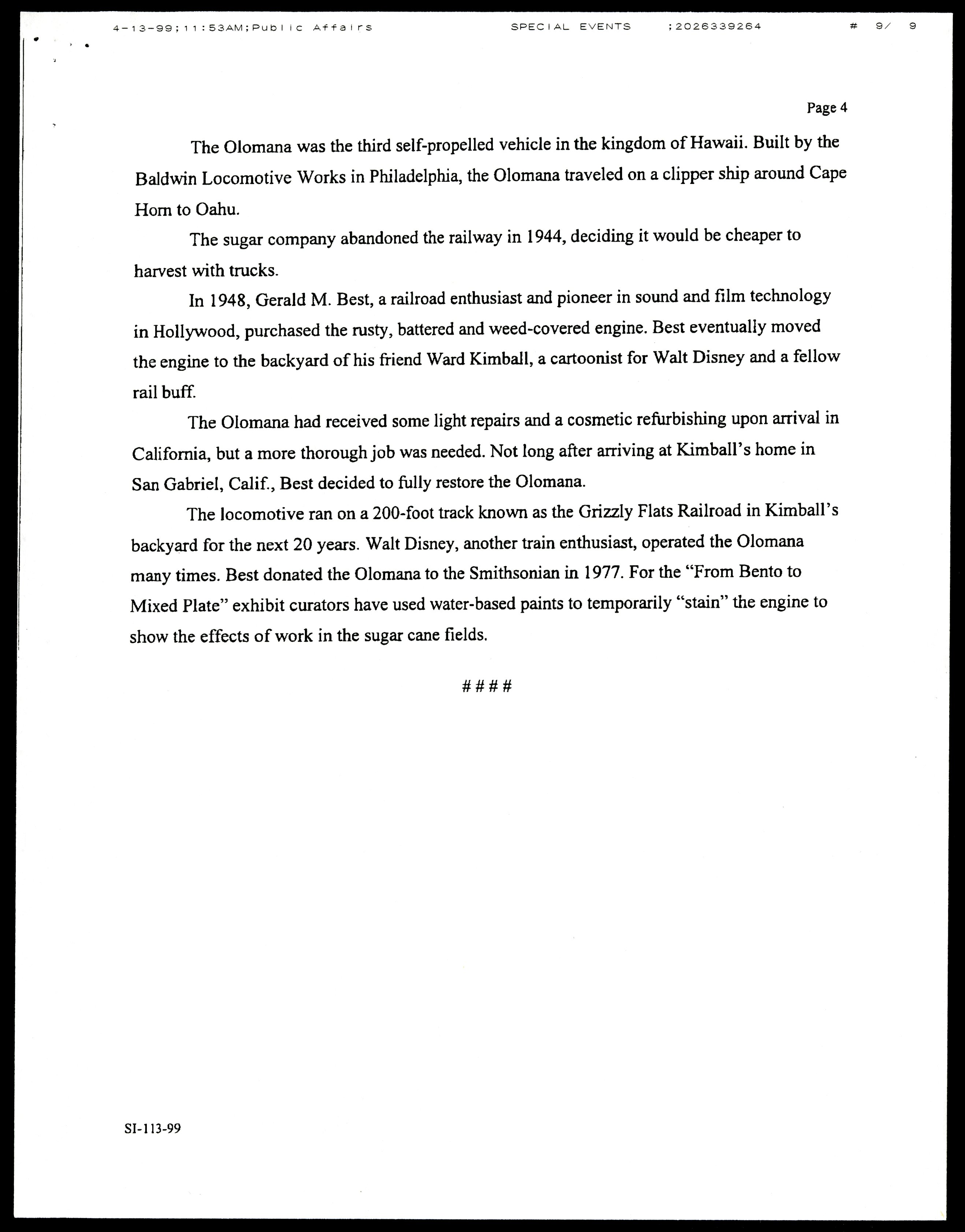 """Press release for the exhibition, """"From Bento to Mixed Plate: Americans of Japanese Ancestry in Mult"""