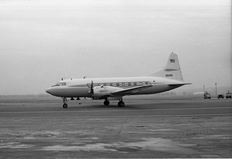 Presentation Of Kennedy Aircraft Caroline To The Smithsonian At Washington National Airport November 17 1967 By Unidentified Photographer Black And