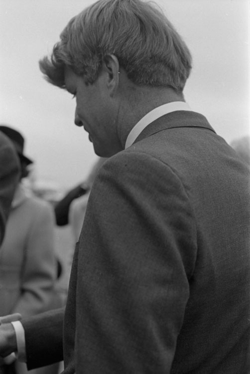 "Presentation of Kennedy Aircraft ""Caroline"" to the Smithsonian"