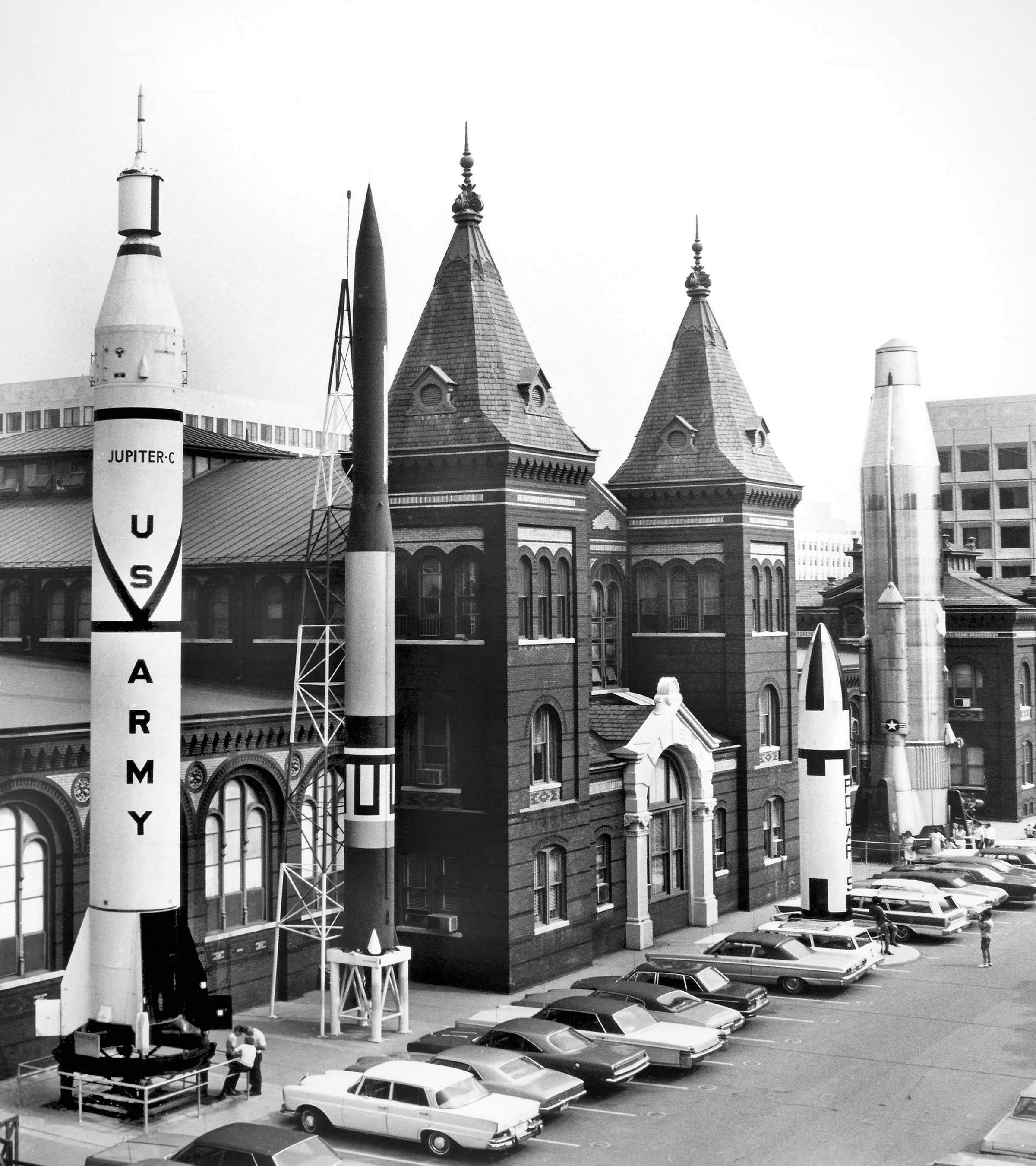 Rocket Row, Arts and Industries Building