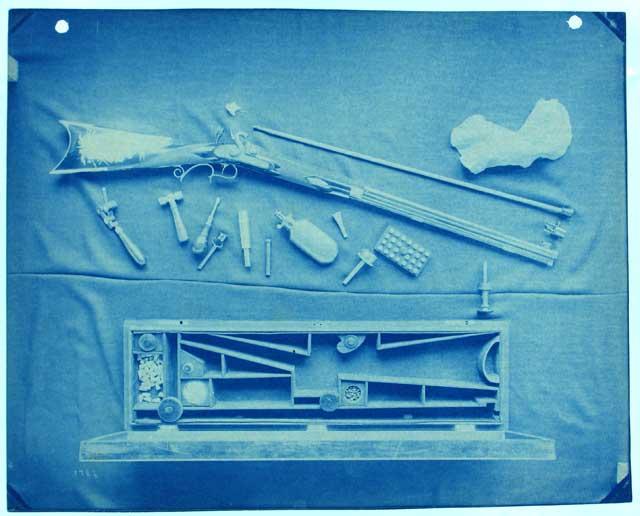 Photograph of Firearms Exhibit by Thomas William Smillie, c. 1890, by Thomas Smillie, SIA RU000095 [3746].