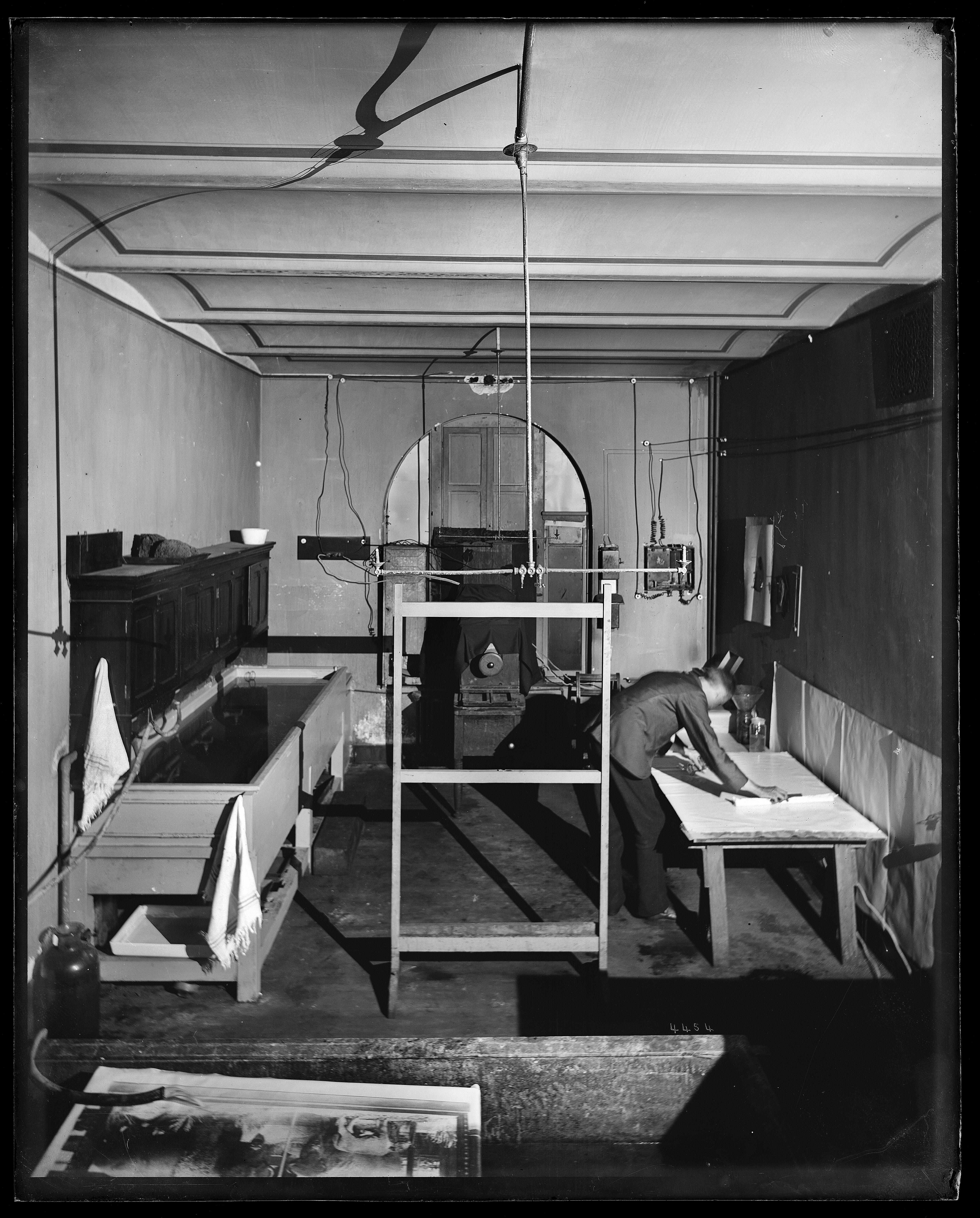United States National Museum photography laboratory.
