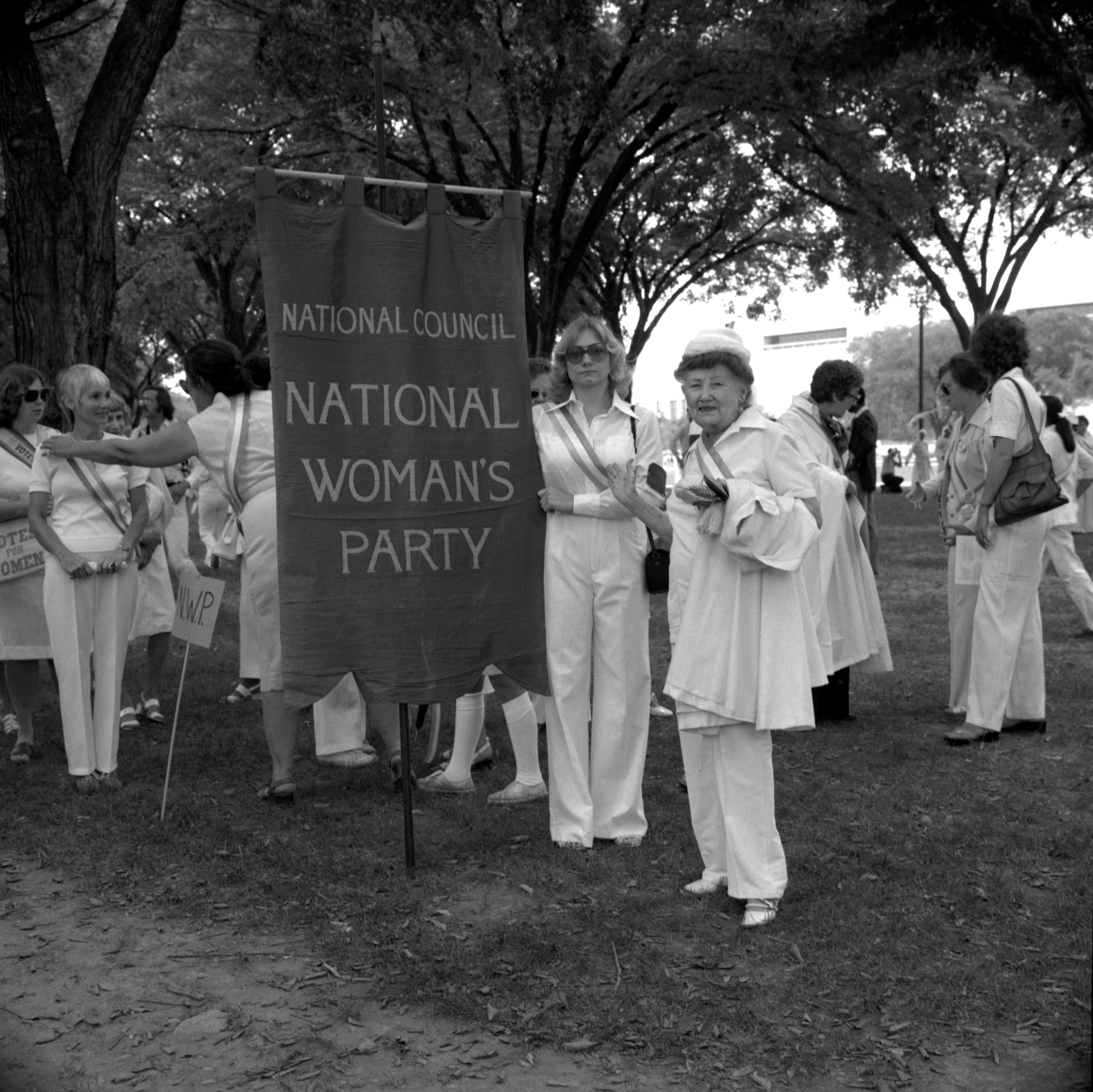 Alice Paul Memorial March in Washington, D.C.