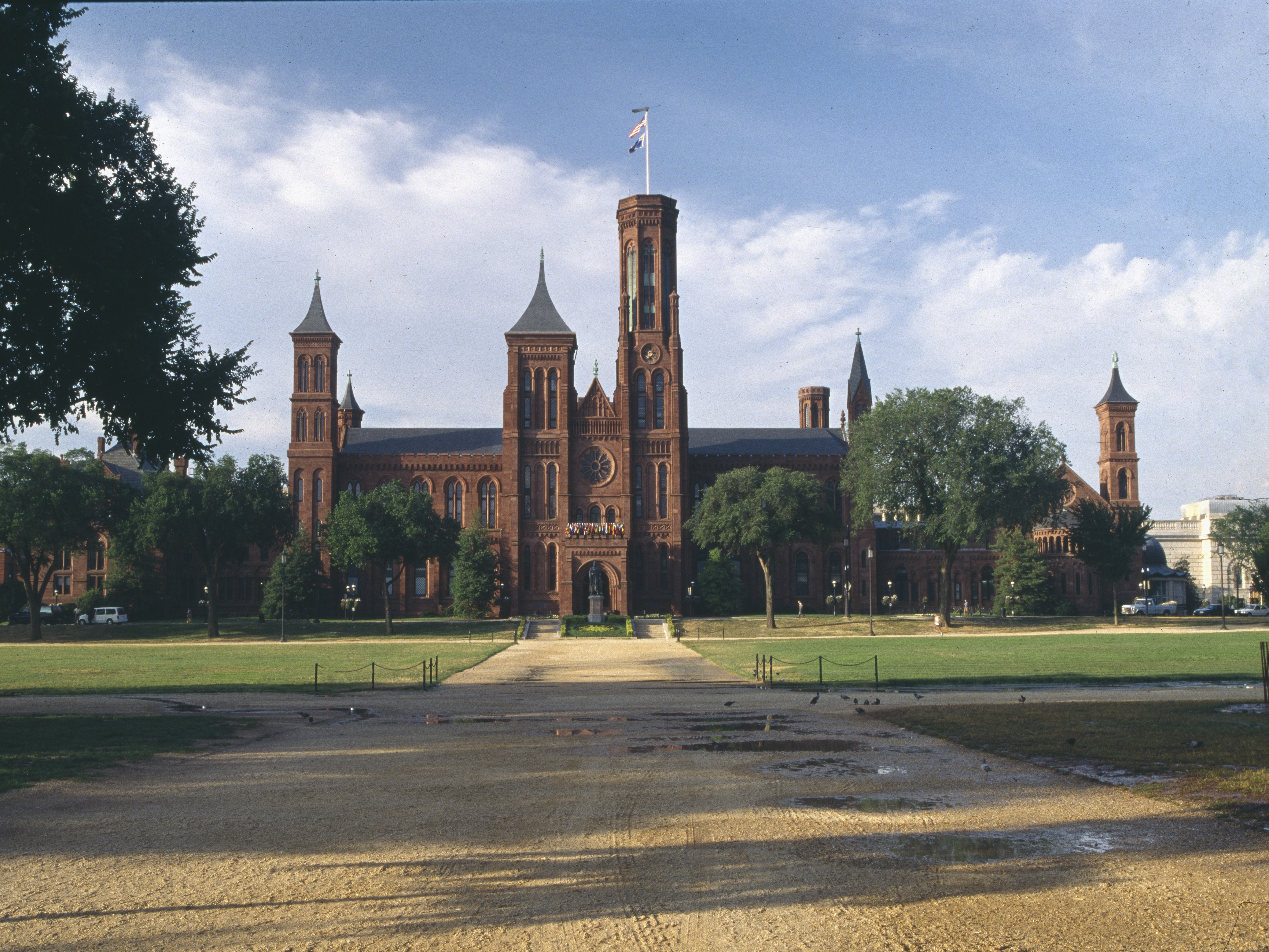 North Facade of the Smithsonian Castle