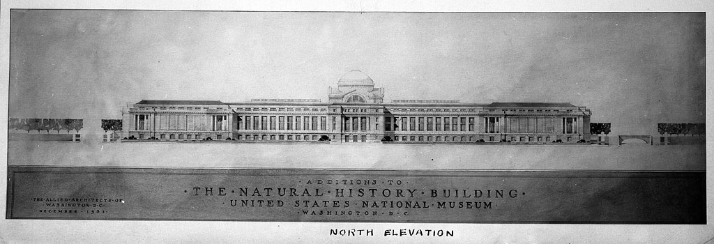 Proposed Wings for the Natural History Building