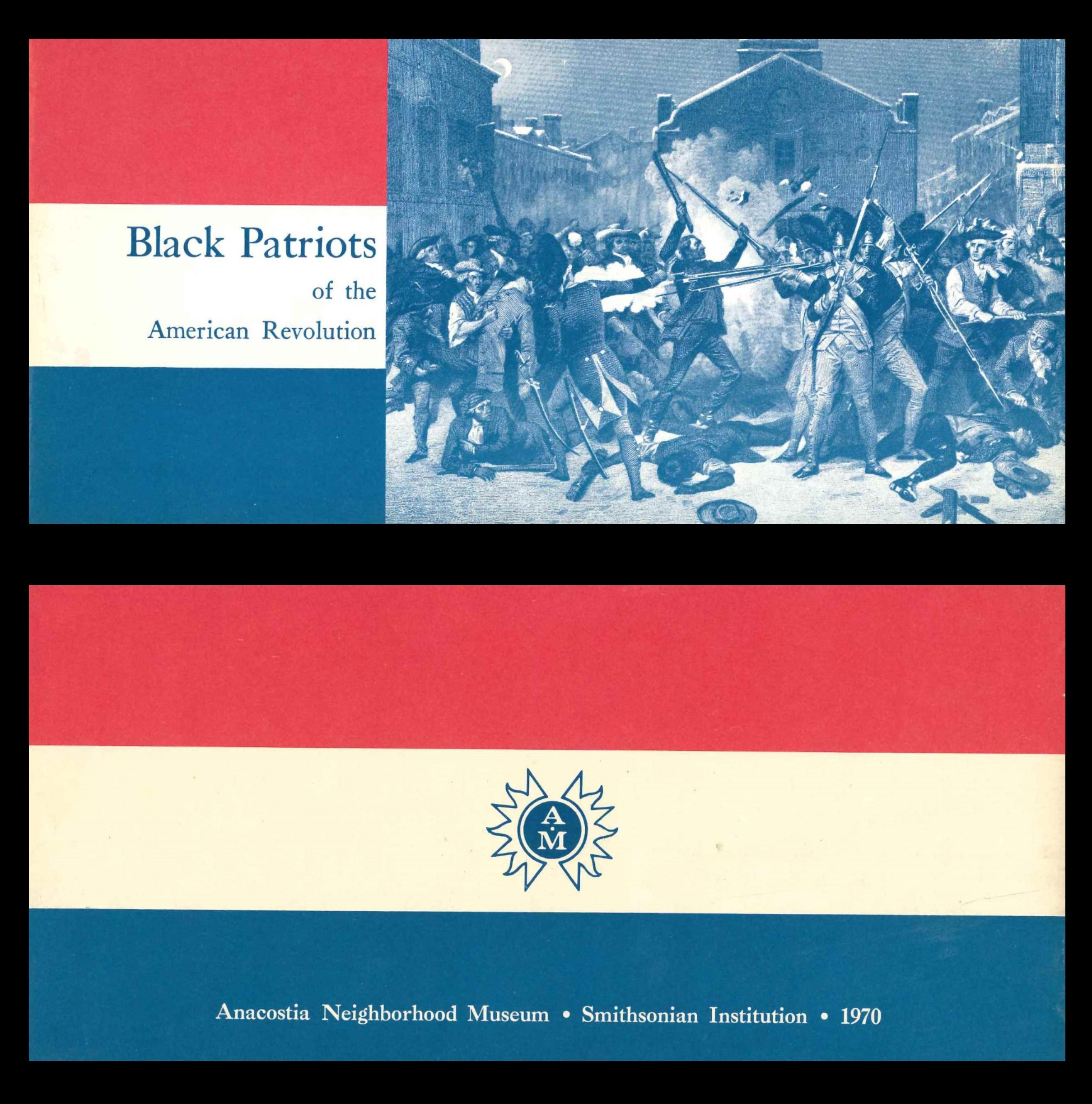 Exhibition brochure - Black Patriots of the American Revolution, 1970.