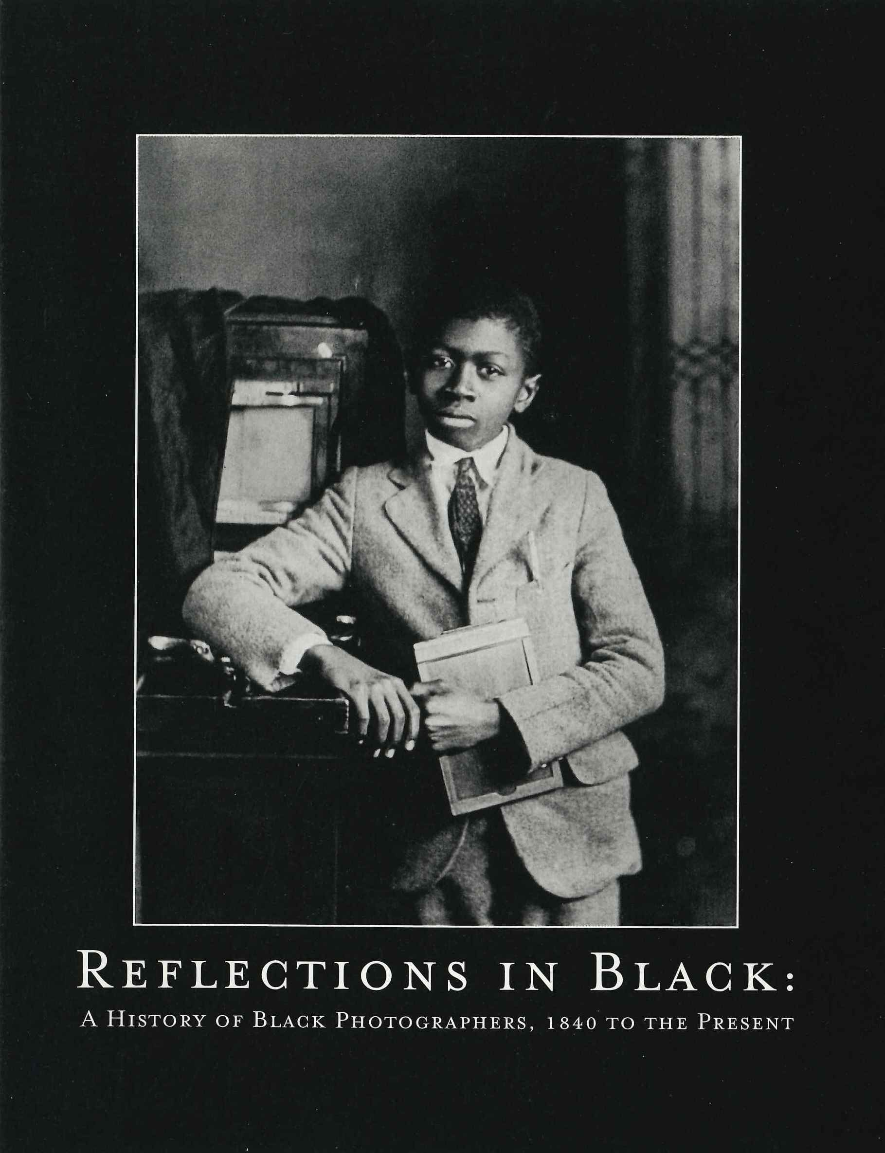 Exhibition brochure - Reflections in Black: A History of Black Photographers, 1840 to the Present, F